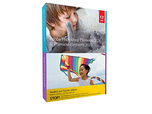 Photoshop Elements 2020 & Premiere Elements 2020 Student and Teacher | PC | PC Aktivierungscode per Email