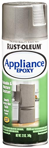 Rust-Oleum 7887830 Appliance Epoxy, 12 oz, Stainless Steel