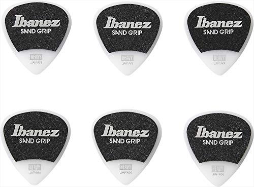 IBANEZ Flat Pick Zand Grip – wit 6 stuks (PPA16HSG-WH)