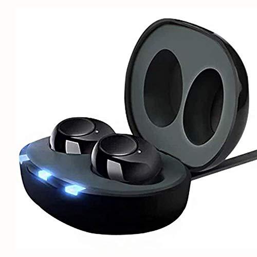 JW Mini USB Ricaricabile CIC Digital Inner Ear Enhancer Audio Personale Amplificatore vocale Tono Regolabile con cancellazione del Rumore Controllo del Volume con Un Solo Tocco per Gli Anziani