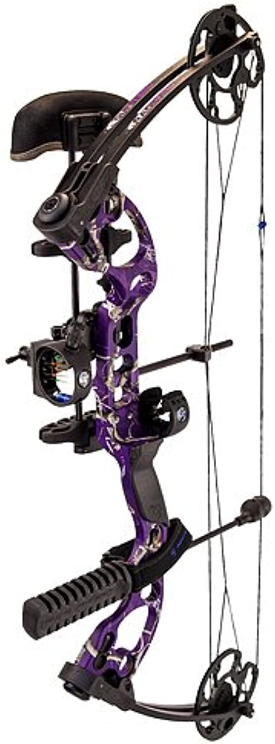 Quest Radical Left Hand Package, AP Purple, 17.530Inch 40Pound