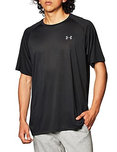 Under Armour Tech 2.0 Shortsleeve Camiseta, Hombre, Azul (Academy/Graphite), M