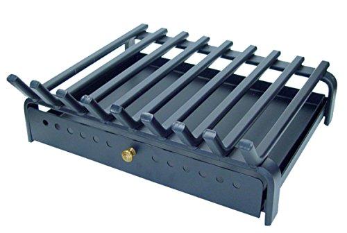 IMEX EL ZORRO 10805 Parrilla para Chimenea con cajón (60 x 45 cm)