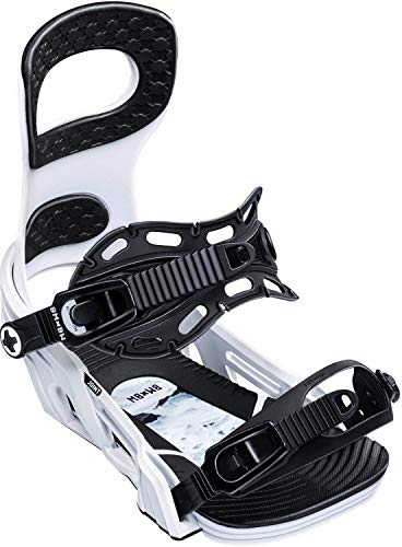 Bent Metal Joint Snowboard Bindings Mens Sz L (11-14) White