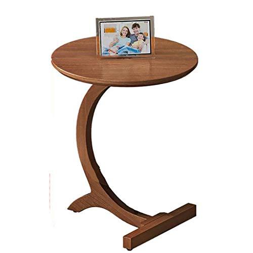 SH-tables Mesa De Sofá, Mesa Lateral De Madera Maciza, Mesa De Centro, Mesa De Centro, Escritorio, Mesa De Estudio, para Lectura, Sala De Estar, Dormitorio (Color : A, Size : 45x60cm)