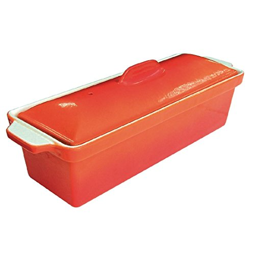 Vogue Terrinenform Gusseisen orange 1,3L