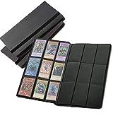 Raccoglitore Album con Buste a 9 Tasche per Carte da Gioco collezionabili - 360 Tasche totali con Apertura Laterale - MTG, Pokemon, YuGiOh