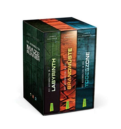 Maze Runner – Die Auserwählten. Band 1-3 im Schuber (Die Auserwählten – Maze Runner)