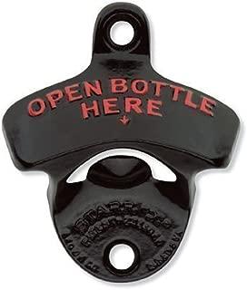 Black Open Bottle Here STARR
