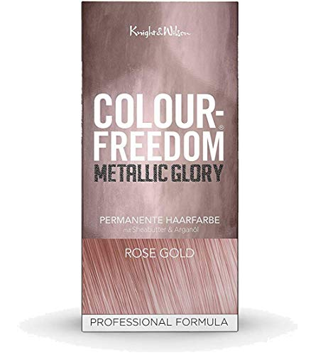 Colour-Freedom Metallic Glory Rose Gold permanente Haarfarbe