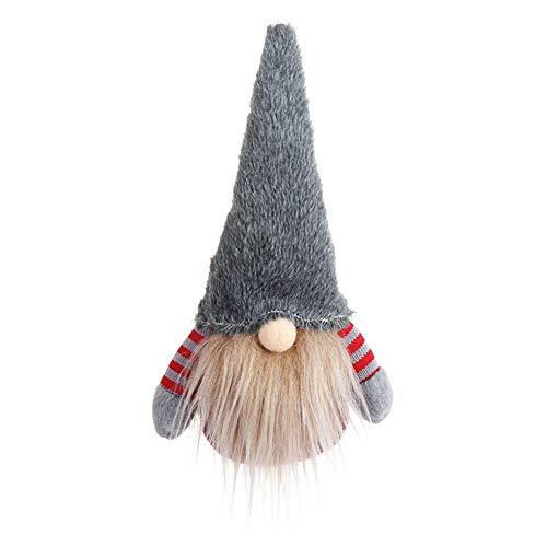 LOL lo Christmas Gnomo de Papá Noel para Colgar en el árbol de Navidad, Adorno de muñeca, Juguete Decorativo