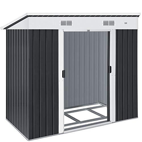 KESSER® - Gerätehaus L Metall 3,4 m³...