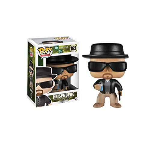 Luck7DZ Heisenberg Figura Mr.White Walter White Soap Opera AMC Breaking Bad Figura de Vinilo de Pop