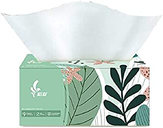 Toilet Paper, Virgin Wood Pulp Extraction Type Paper Towel, Flexible, Delicate and not Easy to Break (3 Layers/Sheet, 100 ...