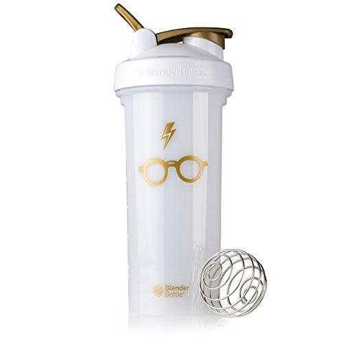 Blender Bottle Harry Potter Pro Series 28-Ounce Shaker Bottle, Bolt & Glasses