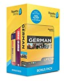 Learn German and Unlimited Languages with Lifetime Access: Rosetta Stone Bonus Pack Bundle with Grammar Book and Dictionary