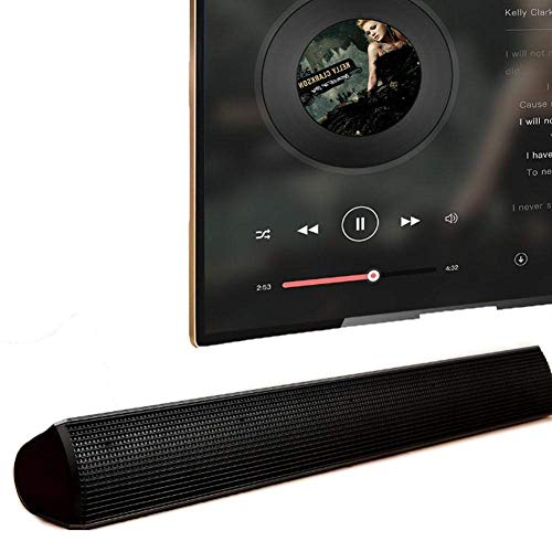 Review Of Home Theater Sound Bar, Dual Advanced Portable Stereo Speaker Bar Soundcore Theater Speake...