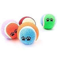 ペット噛む玩具 犬 ペットおもちゃ 犬用品 ボール 遊び 歯ぎしり 天然ゴム 丈夫 耐久性 清潔 安全 ストレス解消 運動不足 テニス 6.5cm