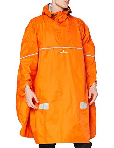 Ferrino Dryride – Poncho de Pluie Unisexe pour Adulte Taille Unique Arancione