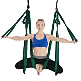 Columpio de Yoga Aéreo Hamaca de Yoga Aérea Swing de Yoga de Tela de Seda Aérea...