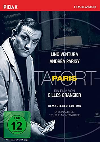 Tatort Paris - Remastered Edition (125, rue Montmartre) / Spannender Thriller mit Starbesetzung (Pidax Film-Klassiker)