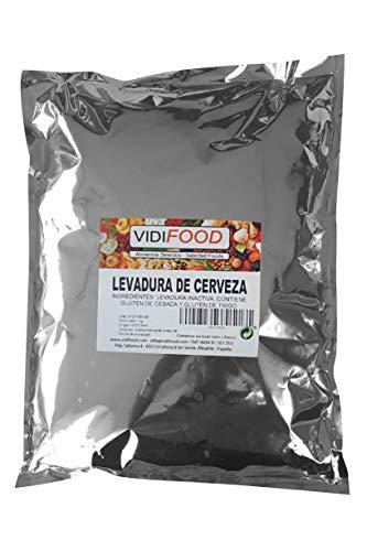 Levure De Bière en Flocons - 1kg - Super Aliment Nutritionnel Levure Inactive - Prêt À Consommer - Non Ogm Haute Teneur En Protéines Pour Les Végétaliens