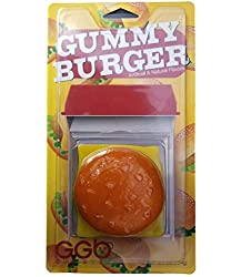 Giant Gummy Cheeseburger