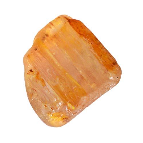 Ravishing Impressions AG-15434 - Gemma grezza brasiliana con topazio imperiale naturale, dimensioni 10 x 11 x 8 mm, esemplari di cristallo minerali, pietra per anelli, miglior prezzo, AG-15434