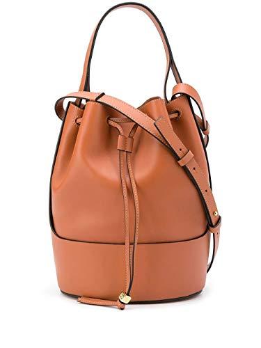Luxury Fashion | Loewe Woman 32675AC302530 Brown Leather Shoulder Bag | Fall Winter 20