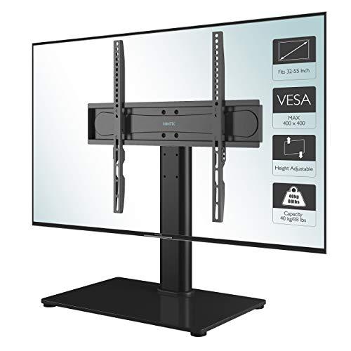 1home Universal Soporte Altura Ajustable para TV Base del Televisor con la Pantalla 32-55 Pulgadas