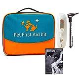 Erste Hilfe Set für Haustiere, tierärztliche Erste-Hilfe-Tasche für Hunde, Katzen, Kaninchen,...