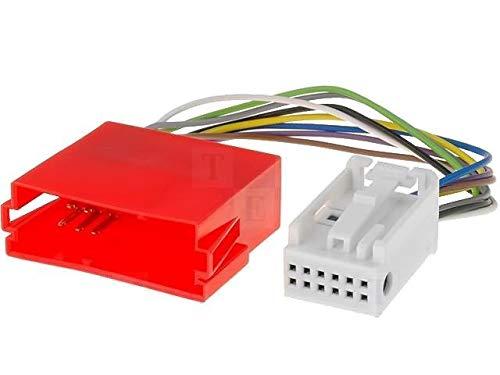 Adaptateur compatible avec changeur de CD compatible avec Audi VW 1