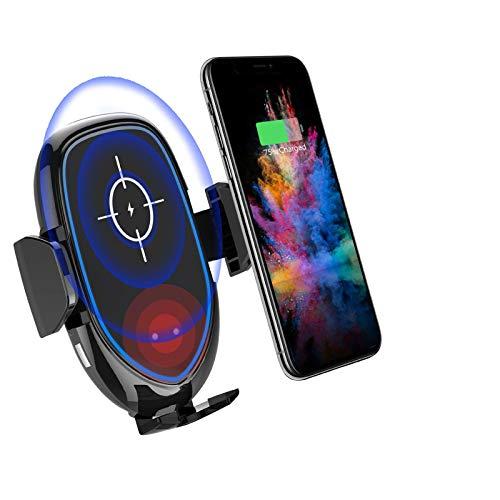 EEEKit Montaje de ventilación de Aire del Cargador inalámbrico de Auto rápido iPhone de Samsung y Todos los Dispositivos Qi