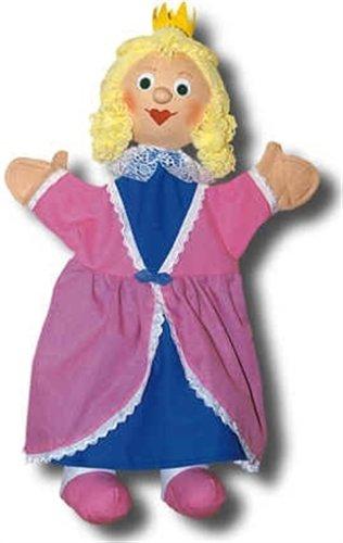 Trullala Handpuppe, Fingerpuppe, Puppentheater, Motiv: Prinzessin rosa 40 cm