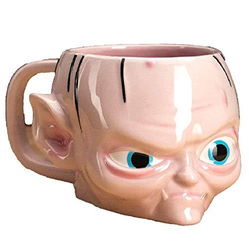 Herr der Ringe - Tasse Gollum - 3D Kaffeebecher - Smeagol - Geschenkbox