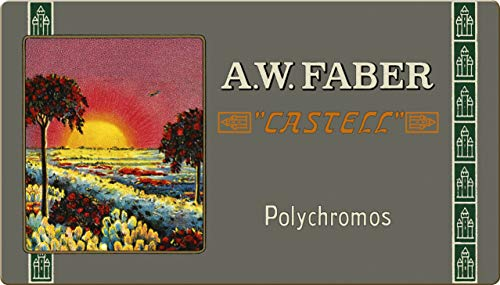 Faber-Castell 211003 - Polychromos Farbstift, Sonderedition, 36er Metalletui