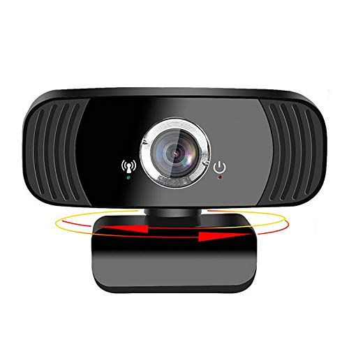 Webcam con micrófono, Webcam de la computadora Webcam USB de 1080p HD, para Windows Mac OS, para videoconferencia, Juegos, Clases en línea