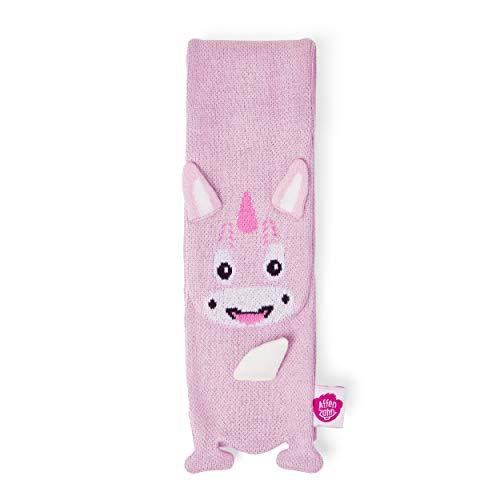 Affenzahn Kinderschal - 100% Bio-Baumwolle, warm - Einhorn - Pink