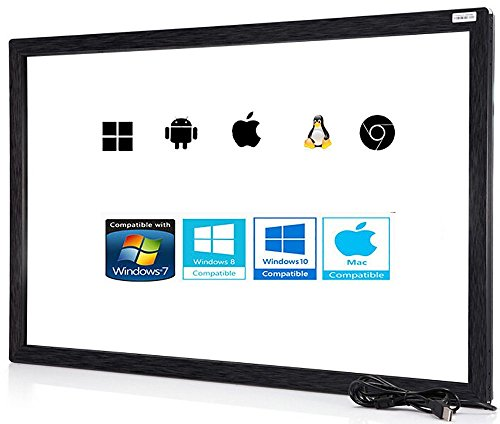 55 Inch Multi-Touch Infrarrojos Touch Marco