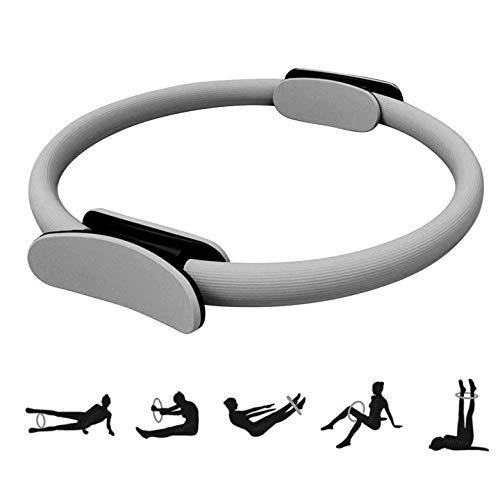 Anello da pilates, circolo pilates da 38 cm, anelli per allenamento, Ring Pilates, Cerchio Pilates Ring Magic Circle anello di resistenza,yoga palestra, rafforzamento interno ed esterno della coscia