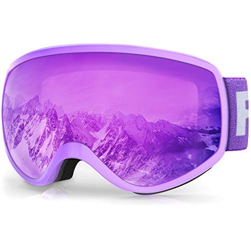findway Kids Ski Goggles, Kids Snow Snowboard Goggles for Boys Girls...