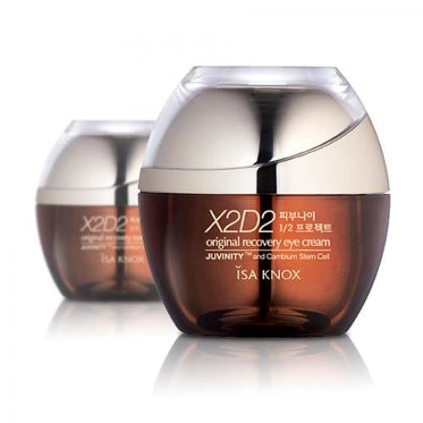 必須恒久的瀬戸際ISA KNOX X2D2 Original Recovery Eye Cream [Korean Import]