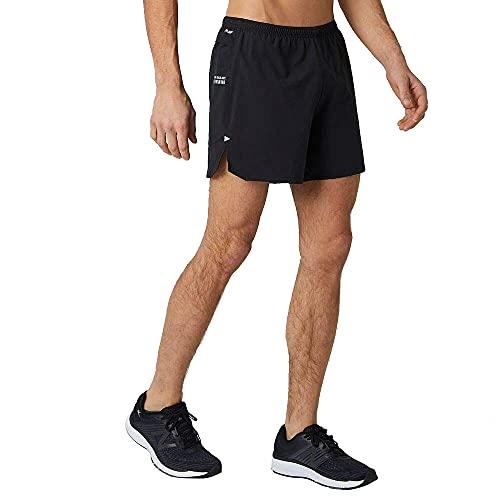 New Balance Men's Impact Run 5 Inch Short, Black , Large