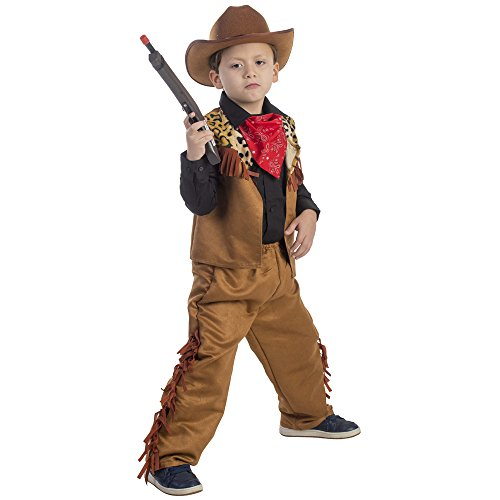 Dress Up America Sauvage Occidentale garçon de vache Costume pour enfants
