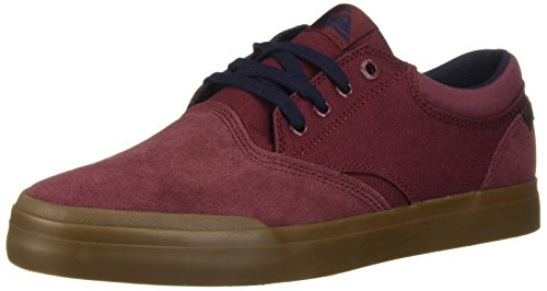 Quiksilver Herren Verant Sneaker, Rot (Rot/Blau/Rot), 37.5 EU
