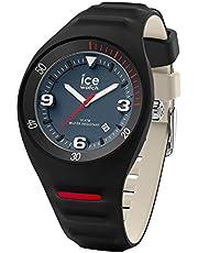 Ice-Watch - P Leclercq Black Blue Jeans - Montre Noire pour Homme avec Bracelet en Silicone - 018944 (Medium)