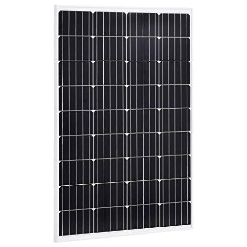 N/O Viel Spaß beim Einkaufen mit Solarmodul 120 W Monokristallin Aluminium und Sicherheitsglas