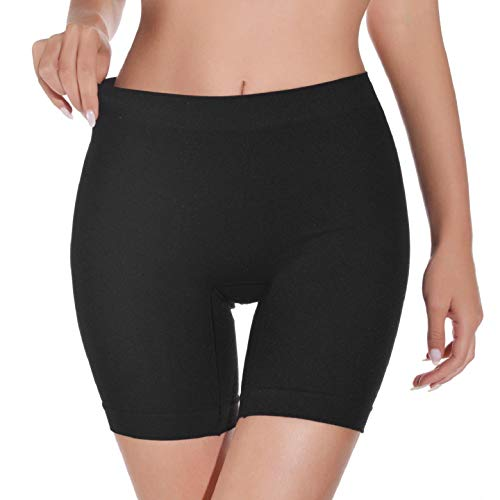 Yuson Girl Damen Miederpants Anti-Chafing Anti-Rutsch Leggings, Unterhose Unter Rock Kurz Hose, Miederslip Shorts Sicherheit Panty Lace Leggings Kurze Tight