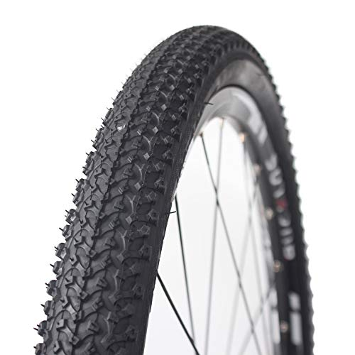 BUCKLOS MTB Tires 24'' 26'' x 1.95'', Bicycle Unfold Tire, Mountain Bike Wire Bead Tires Tubeless, 1PC, Fit AM XC DH FR