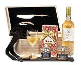 Ducs de Gascogne - Coffret gourmand 'Écrin de Terroir' - comprend 4 produits dont un foie gras entier, une spécialité au foie gras et un vin blanc moelleux - spécial cadeau (946606)